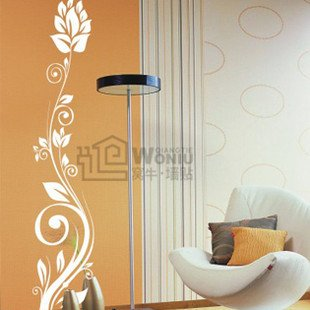 """Wall decals and vinyl wall art - ear flower tree wall decal sticker 39""""*8"""""""