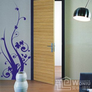 """Wall decals and vinyl wall art -abstract tree decal sticker 43 1/2"""" *17 1/2"""""""