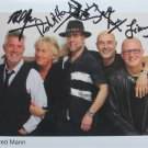 SUPERB MANFRED MANN SIGNED PHOTO + COA!!!