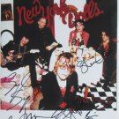 SUPERB NEW YORK DOLLS SIGNED PHOTO + COA!!!
