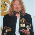 SUPERB ROBERT PLANT SIGNED PHOTO + COA!!!