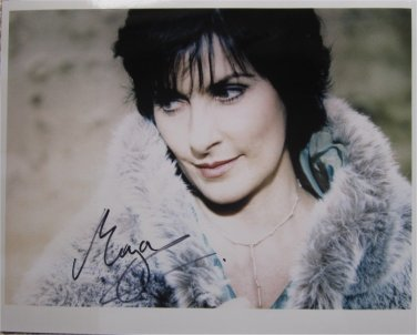 SUPERB ENYA SIGNED PHOTO + COA!!!