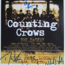 SUPERB COUNTING CROWS SIGNED PHOTO + COA!!!