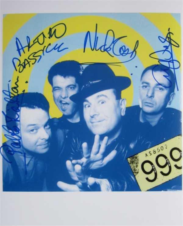 SUPERB 999 SIGNED PHOTO + COA!!!
