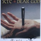 SUPERB XTC SIGNED PHOTO + COA!!!