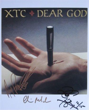 SUPERB XTC SIGNED PHOTO + COA!!!