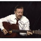SUPERB RICKY GERVAIS SIGNED PHOTO + COA!!!