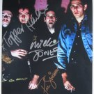SUPERB THE CLASH SIGNED PHOTO + COA!!!