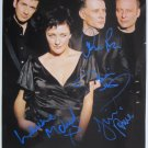 SUPERB DEACON BLUE SIGNED PHOTO + COA!!!