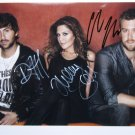 SUPERB LADY ANTEBELLUM SIGNED PHOTO + COA!!!