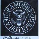 SUPERB RAMONES SIGNED PHOTO + COA!!!
