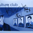 SUPERB CULTURE CLUB SIGNED PHOTO + COA!!!