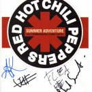 SUPERB RED HOT CHILI PEPPERS SIGNED PHOTO + COA!!!