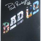 SUPERB PAUL RODGERS (FREE, BAD COMPANY) SIGNED PHOTO + COA!!!