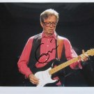 SUPERB ERIC CLAPTON SIGNED PHOTO + COA!!!