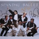 SUPERB SPANDAU BALLET SIGNED PHOTO + COA!!!