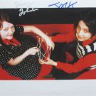 SUPERB WHITE STRIPES SIGNED PHOTO + COA!!!