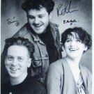 SUPERB COCTEAU TWINS SIGNED PHOTO + COA!!!