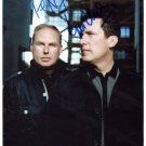 SUPERB OMD SIGNED PHOTO + COA!!!