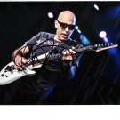 SUPERB JOE SATRIANI SIGNED PHOTO + COA!!!