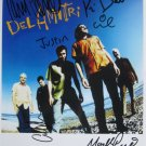 SUPERB DEL AMITRI SIGNED PHOTO + COA!!!