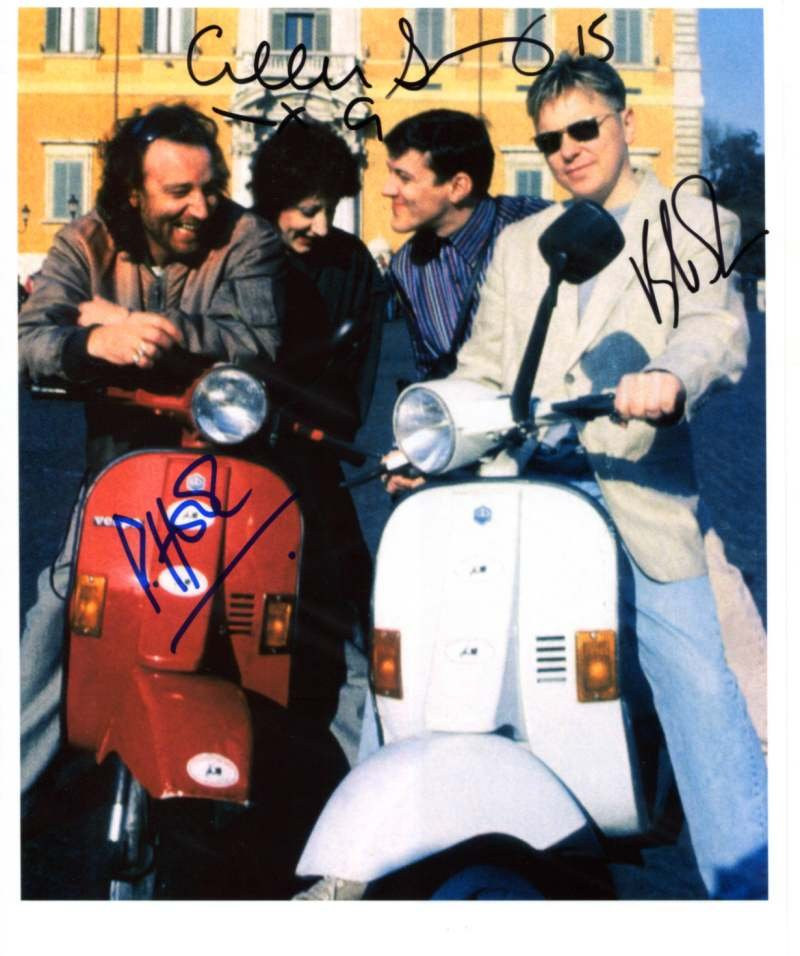 SUPERB NEW ORDER SIGNED PHOTO + COA!!!