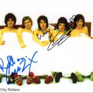 SUPERB BAY CITY ROLLERS SIGNED PHOTO + COA!!!