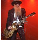SUPERB BILLY GIBBONS (ZZ TOP) SIGNED PHOTO + COA!!!