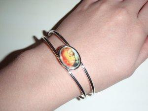 Flaming June cuff bracelet