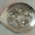 Leonard Silverplate Serving Spoon Cranberry Berry Bon Bon Italy