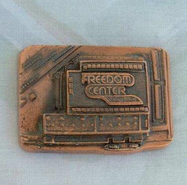 Chicago Tribune Copper Paper Weight 1981 Freedom Center Newspaper Decor