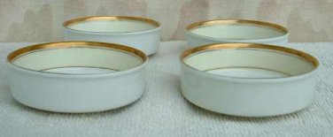 Set of 3 IMARI Arita Fukagawa Oil Dip Bowls Japan Vintage Pottery Glass