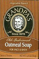 Grandpa's Oatmeal Soap - 3.25 oz