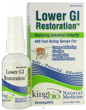 King Bio Lower GI Formula - 2oz