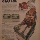 Exide & Willard Car Batteries 1972 Authentic Print Ad