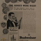 Budweiser Beer 1937 Authentic Print Ad