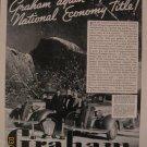 Graham Supercharger 1937 Authentic Print Ad