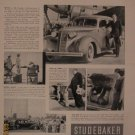 Studebaker 1937 Authentic Print Ad