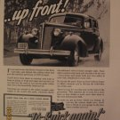 Buick 1937 Authentic Print Ad