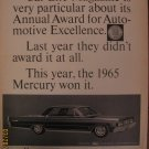 Mercury 1964 Authentic Print Ad