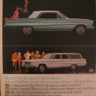 Ford Fairlane 500 1964 Authentic Print Ad