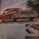 Oldsmobile Starfire 1962 Authentic Print Ad