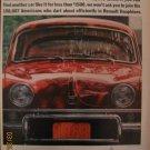 Renault Dauphine 1962 Authentic Print Ad