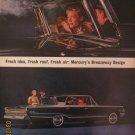 Mercury Monterey Custom S55 1962 Authentic Print Ad