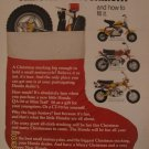 Honda Motorcycles 1972 Authentic Print Ad