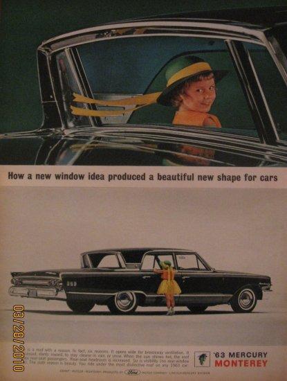 Mercury Monterey 1962 Authentic Print Ad