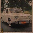 Renault R-8 1962 Authentic Print Ad