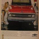 Chevorlet Truck 1961 Authentic Print Ad