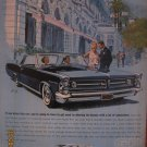 Pontiac Grand Prix 1962 Authentic Print Ad