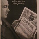 Prudential Insurance 1939 Authentic Print Ad